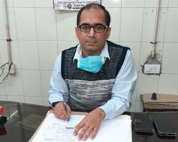 Dr Sumit Anand at his clinic