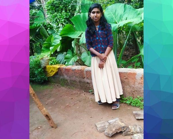 image of aswathi standing