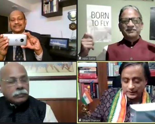 virtual meet of book launch