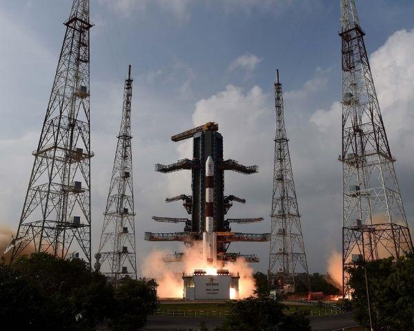 launch of isro satellite