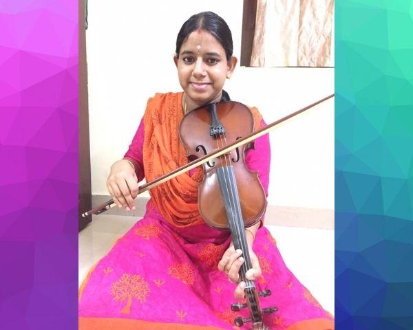 revathi narayanaswami playing violin