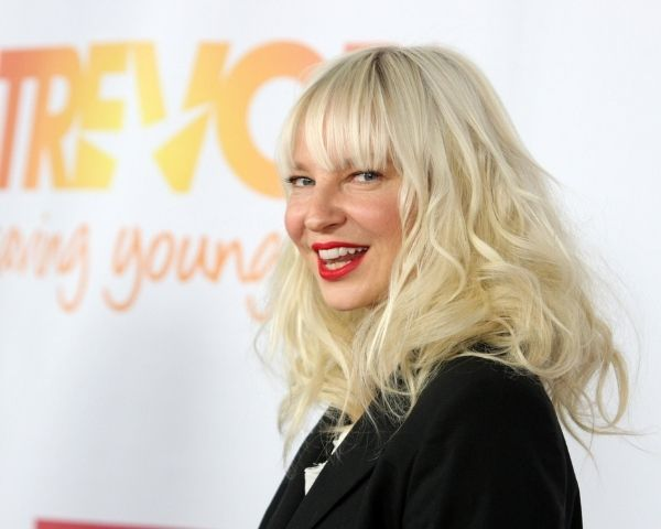 Image of pop singer Sia