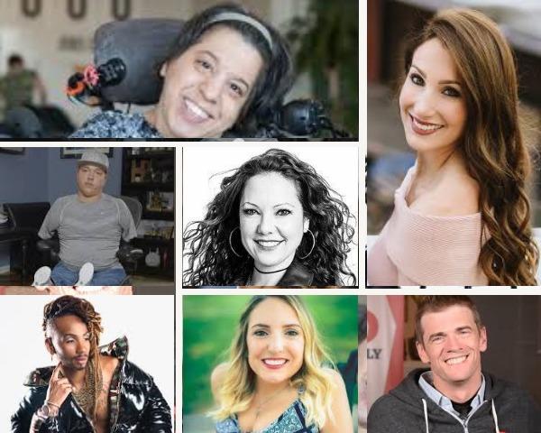 Images of Kaycee Marshall, Adriana Mallozzi, Jovana Mullins, Ryan Hudson-Peralta, and Qaysean Williams. and Mindy Scheier