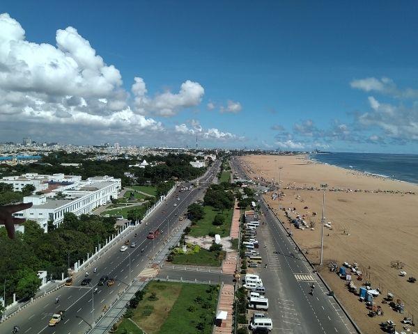 Image of Chennai city