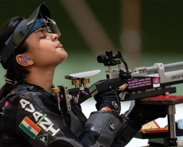 Avani Lakhera at the Games